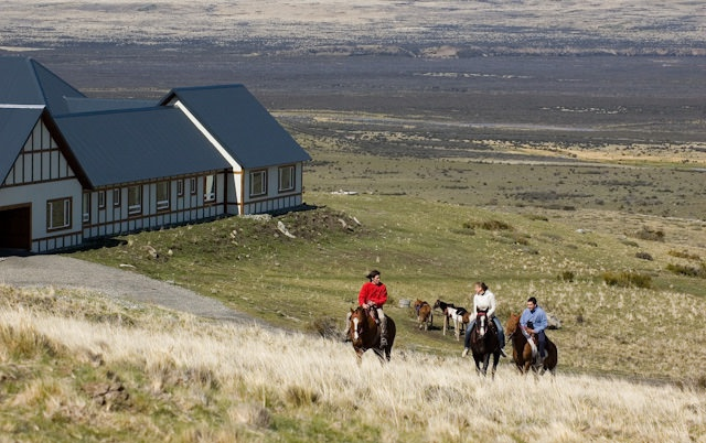 1 - Horse riding, one of many activities available at Eolo